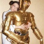 leia love c3po